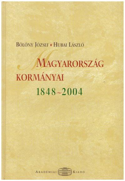 Magyarország kormányai 1848–2004